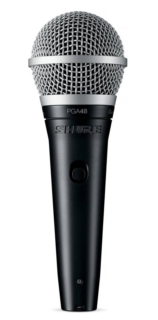shure pga48 cardioid dynamic vocal microphone no cable long mcquade musical instruments. Black Bedroom Furniture Sets. Home Design Ideas