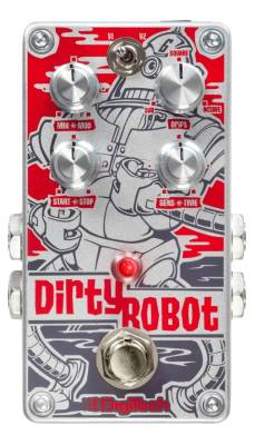 DirtyRobot Stereo Mini-Synth Pedal