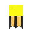 DAddario Woodwinds - Reed Guard for Tenor Sax/Bass Clarinet - Yellow