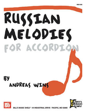 Russian Melodies for Accordion - Wins - Book