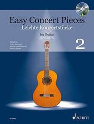 Easy Concert Pieces: Volume 2 - Classical Guitar - Book/CD