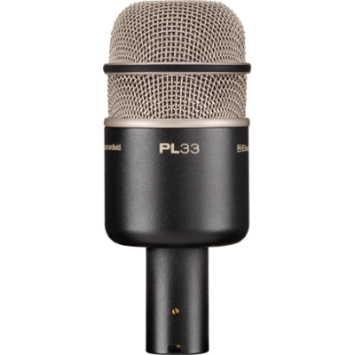 PL-33 Dynamic Supercardioid Kick Drum Microphone