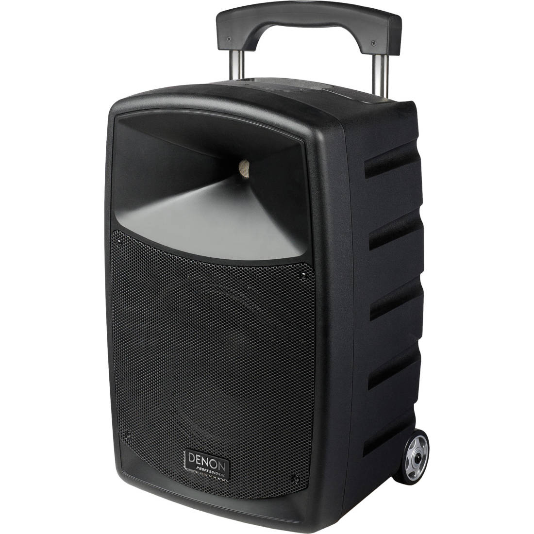 denon envoi portable battery powered pa system long mcquade musical instruments. Black Bedroom Furniture Sets. Home Design Ideas