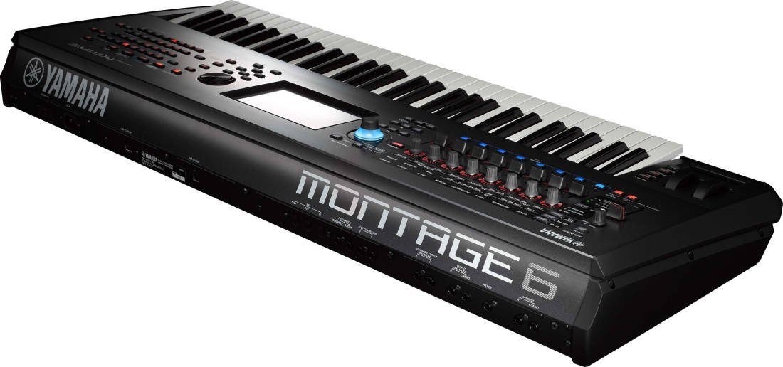 Yamaha montage 6 61 key music synthesizer long for Yamaha montage 8
