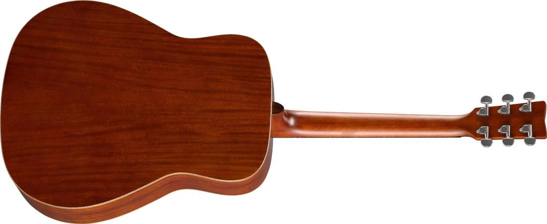 cd418d0c91 Yamaha All Mahogany Solid-Top Acoustic Guitar - Natural Finish ...