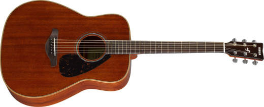 All Mahogany Solid-Top Acoustic Guitar - Natural Finish