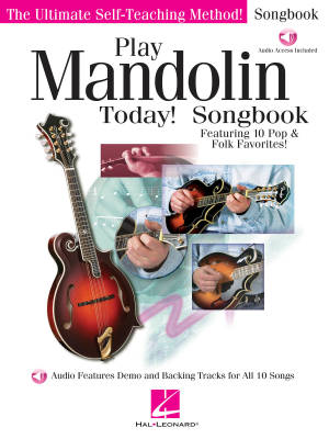 Play Mandolin Today! Songbook - Book/Audio Online