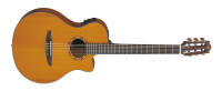 Yamaha - NTX Solid Cedar Top with Cutaway/Electronics/Nylon - Natural