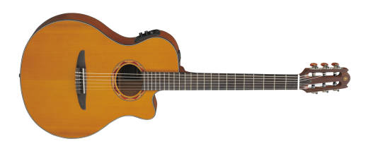 NTX Solid Cedar Top with Cutaway/Electronics/Nylon - Natural