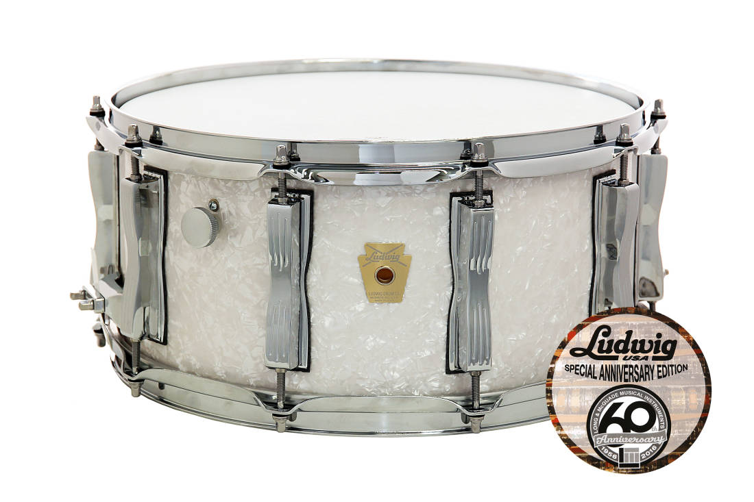 Ludwig Drums L&M 60th Anniversary Legacy Snare 6.5x14 - Long ...