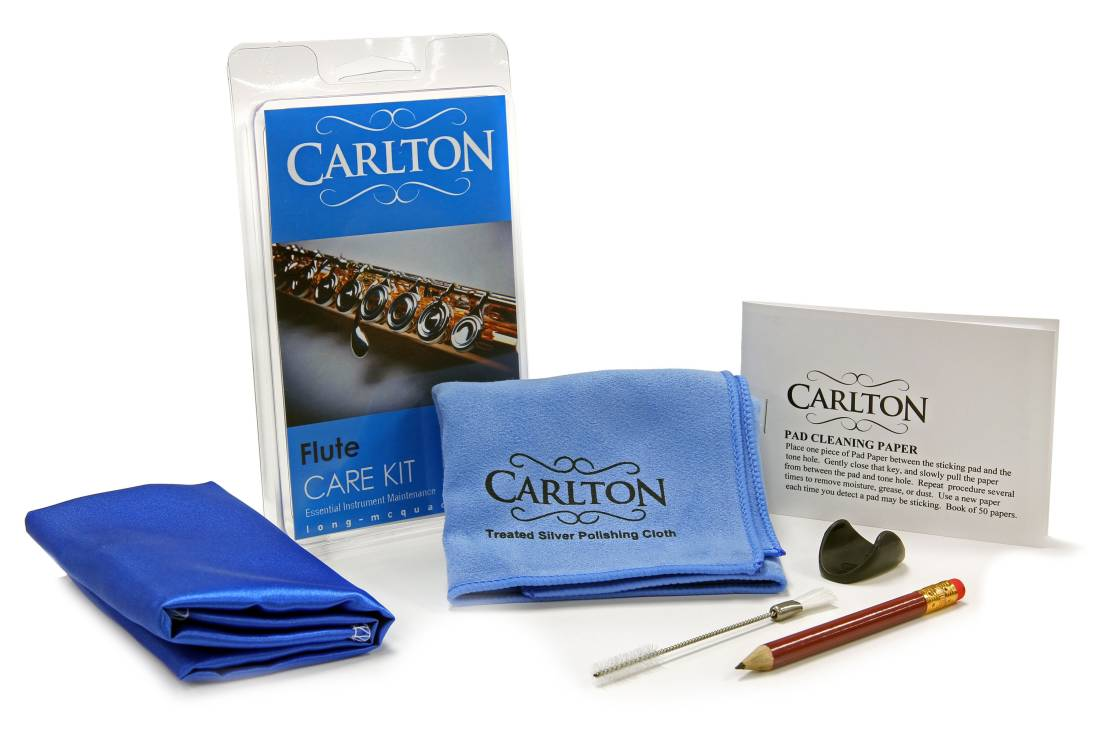 carlton flute care kit long mcquade musical instruments. Black Bedroom Furniture Sets. Home Design Ideas