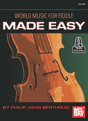 World Music for Fiddle Made Easy - Berthoud - Book/Audio Online