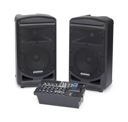 XP800 8-Channel, 2x400W Portable PA System w/FX