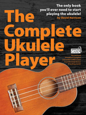 The Complete Ukulele Player - Harrison - Book/Audio Online