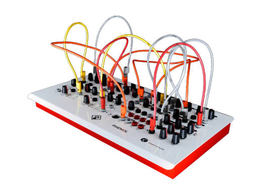Audio-Patchable Analog Synthesizer