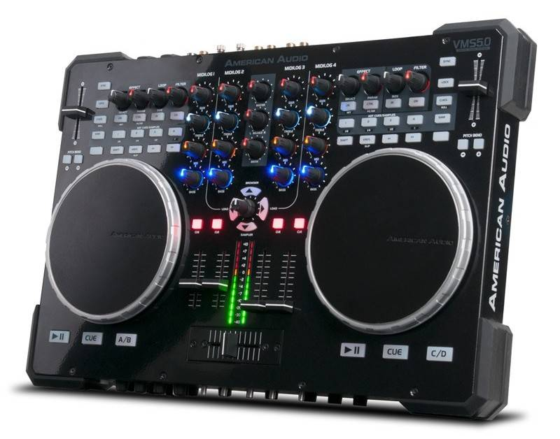 how to connect a dj controller to a mixer