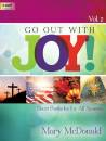The Lorenz Corporation - Go Out with Joy!, Vol. 2 - McDonald - Organ (3-staff) - Book