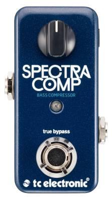 SpectraComp Compact Bass Compressor Pedal
