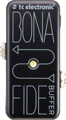 BonaFide Buffer - All Analog High Quality Buffer Pedal