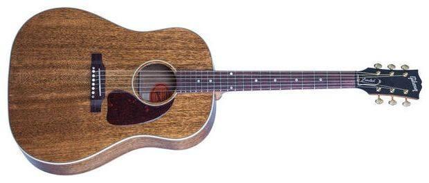 gibson j 45 genuine mahogany ltd long mcquade musical instruments. Black Bedroom Furniture Sets. Home Design Ideas