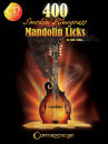 Hal Leonard - 400 Smokin Bluegrass Mandolin Licks - Collins - Book/CD