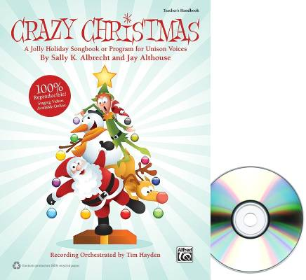 Crazy Christmas (Musical) - Albrecht/Althouse - Teacher's Handbook/CD Kit
