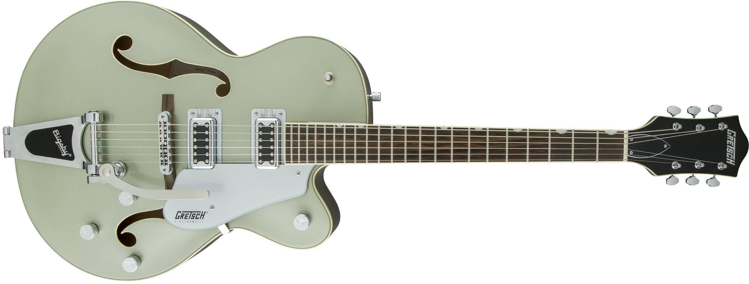 1_1_481228 gretsch guitars g5420t electromatic hollow body aspen green long