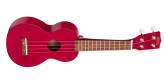 Mahalo - Kahiko Soprano Ukulele w/Bag - Transparent Red
