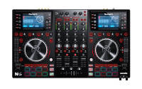 Numark - NVII Serato DJ Controller w/ 4-Deck Intelligent Dual-Display
