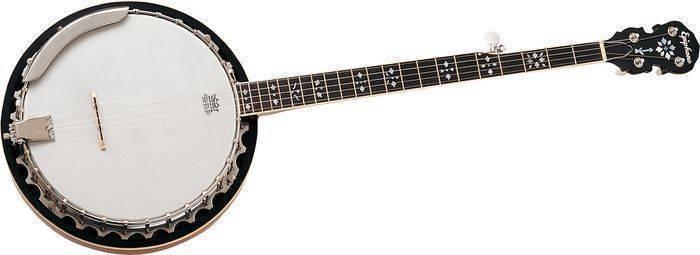 Epiphone Mb 200 5 String Banjo Red Brown Mahogany