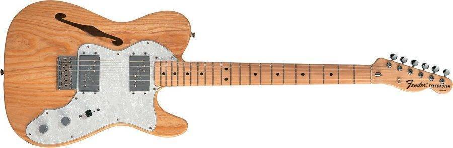 fender 39 72 thinline telecaster long mcquade musical instruments. Black Bedroom Furniture Sets. Home Design Ideas
