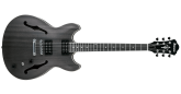 Ibanez - Artcore AS53 Hollow Body Guitar - Transparent Black Flat