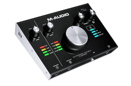 M-Track 2X2M 2-In/2-Out 24/192 USB Audio/MIDI Interface