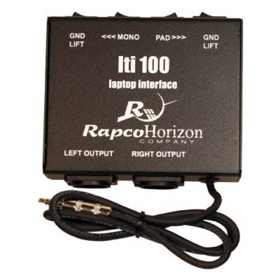 Laptop Interface/Direct Box w/Ground Lift