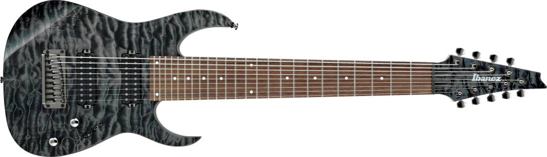 ibanez rg standard 9 string electric guitar black ice long mcquade musical instruments. Black Bedroom Furniture Sets. Home Design Ideas