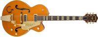 Gretsch Guitars - G6120T-55 Vintage Select Edition 1955 Chet Atkins Hollow Body with Bigsby - Vintage Orange Stain, Lacquer