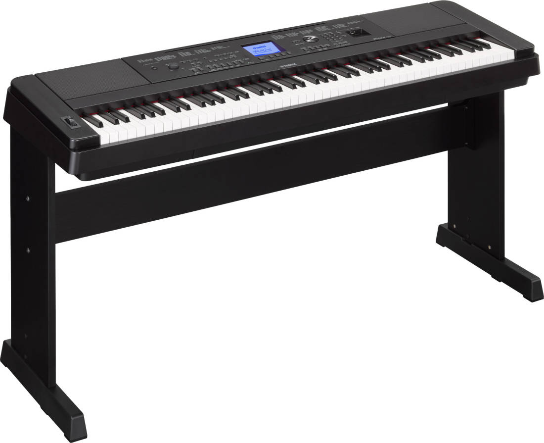 yamaha dgx 660 88 key electric piano black long
