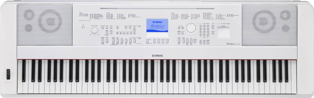 yamaha dgx 660 88 key electric piano white long mcquade musical instruments. Black Bedroom Furniture Sets. Home Design Ideas