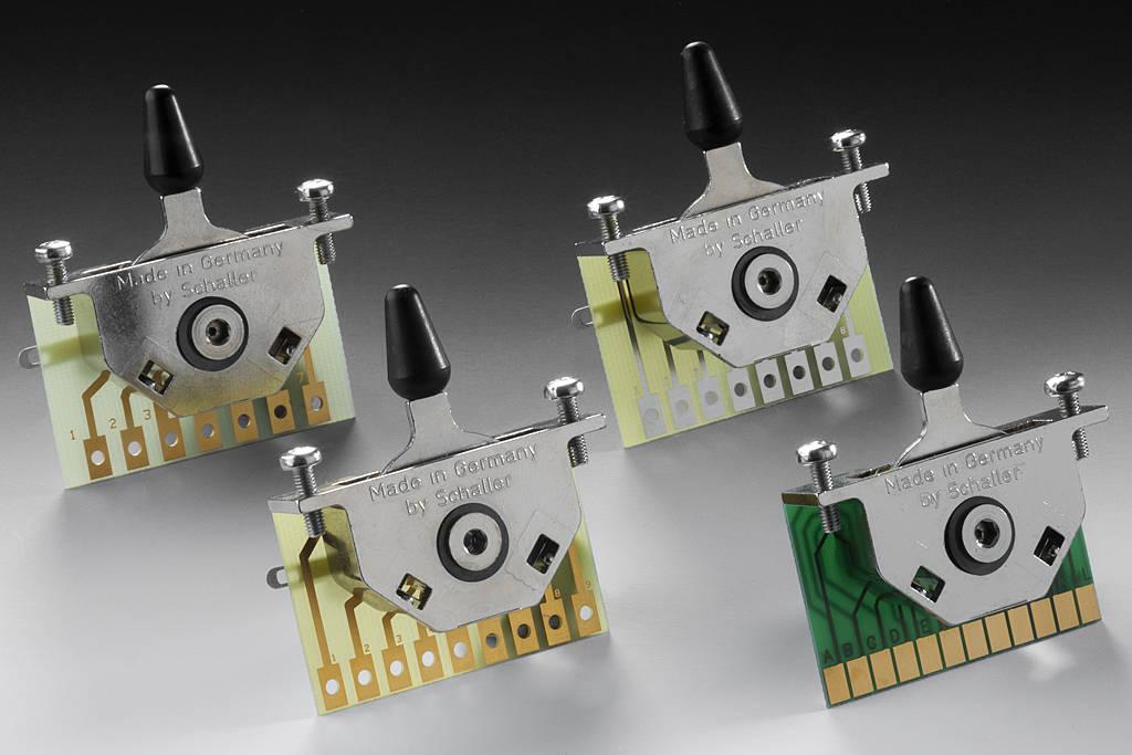 megaswitch e model 5-way switch