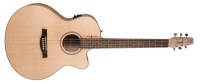 Seagull Guitars - Natural Elements CW Mini-Jumbo SG - Heart of Wild Cherry w/ T35 Electronics