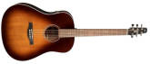 Seagull Guitars - Maritime SWS Mahogany Acoustic/Electric Guitar w/ QIT Electronics - Burnt Umber