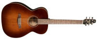 Seagull Guitars - S6 Slim Concert Hall Acoustic/Electric Guitar - Burnt Umber