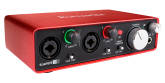 Focusrite - Scarlett 2i2 Gen2 - 24/96 2 In/2 Out USB Audio Interface