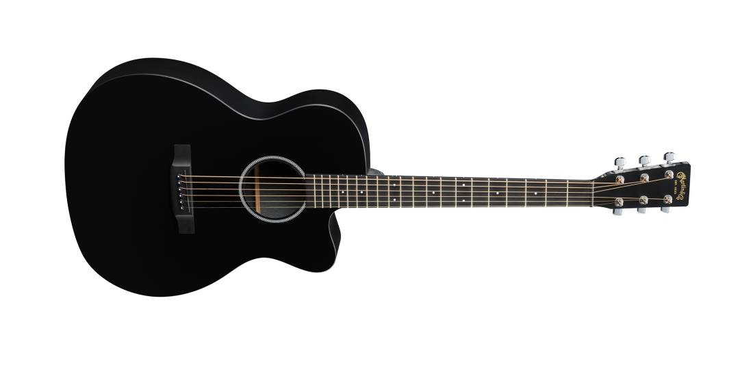 martin guitars om x series ce acoustic electric with cutaway black long mcquade musical. Black Bedroom Furniture Sets. Home Design Ideas