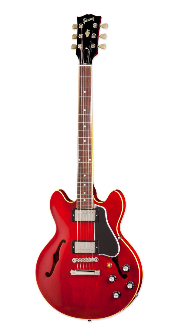 gibson custom shop es 339 classic thin neck semi hollow electric antique red long mcquade. Black Bedroom Furniture Sets. Home Design Ideas
