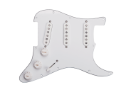 Seymour Duncan - 11550-06-W Classic Fully Loaded Liberator Pickguard for Strat - White