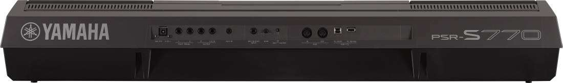 Yamaha PSR-S770 61-Key Arranger Workstation - Long & McQuade