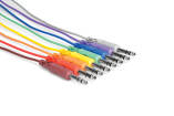 Hosa - Balanced Patch Cables, 1/4 inch TRS to Same, 1.5 ft