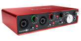 Focusrite - Scarlett 2i4 Gen2 - 24/96 2 In, 4 Out USB 2.0 Audio Interface