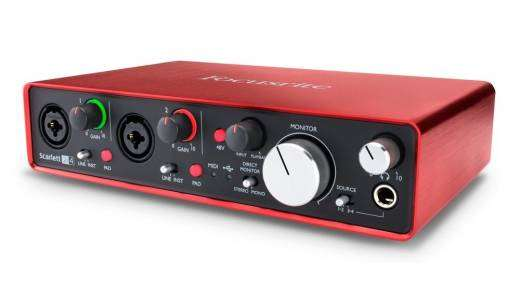Scarlett 2i4 MK2 24/96 2 In, 4 Out USB 2.0 Audio Interface